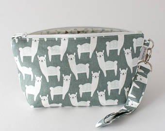 Binkwaffle Wristlet Zipper Clutch