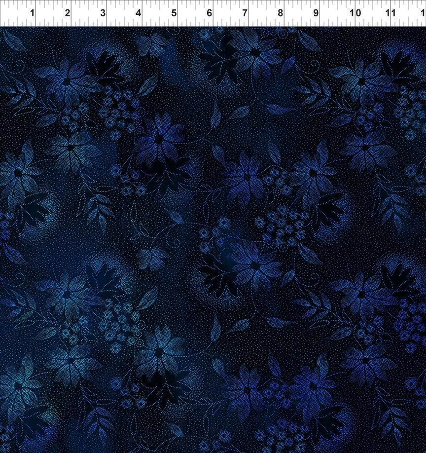 Seasons 2SEA-2, Night Flowers Blue