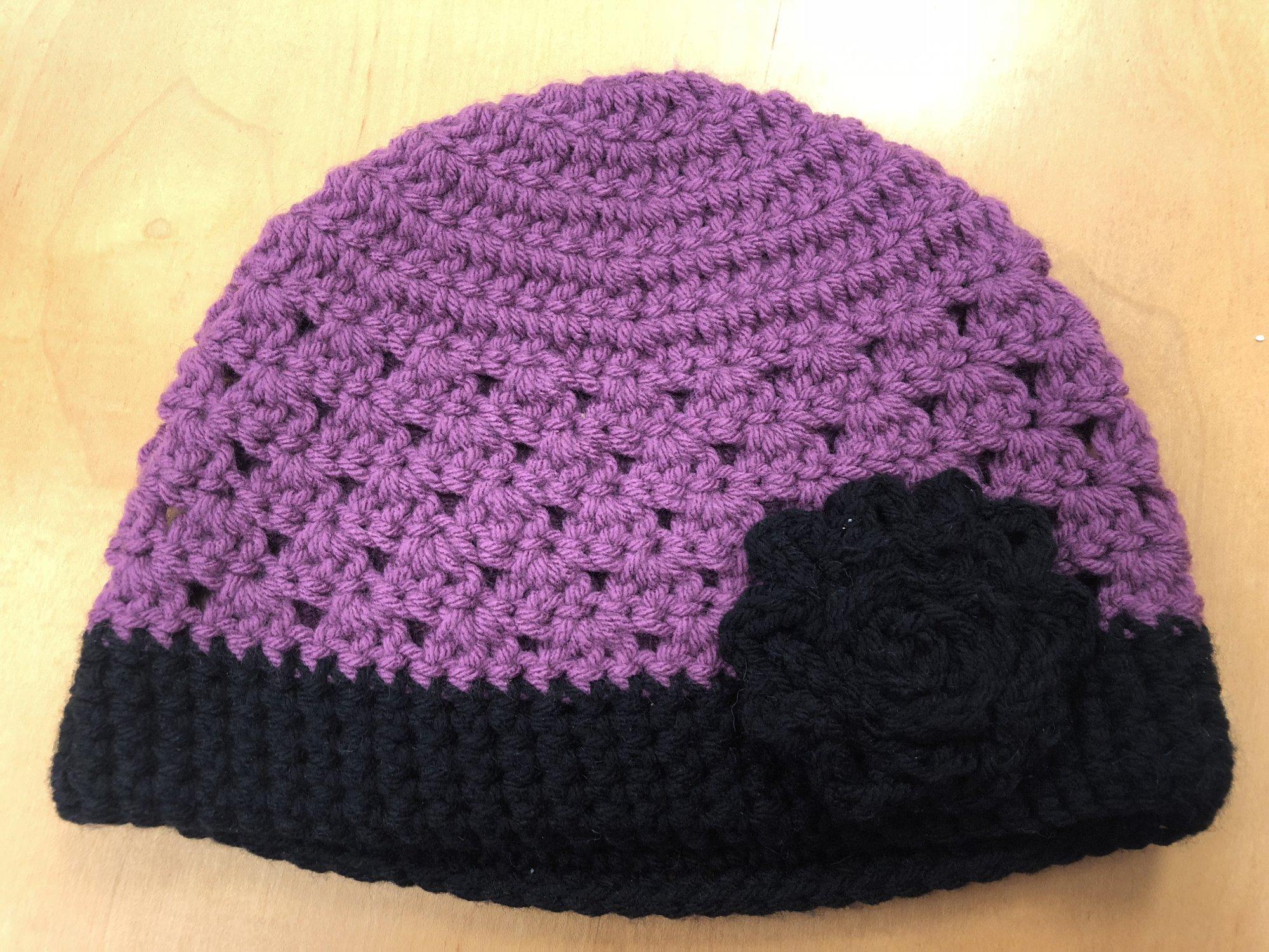 Crocheted Woman's Hat