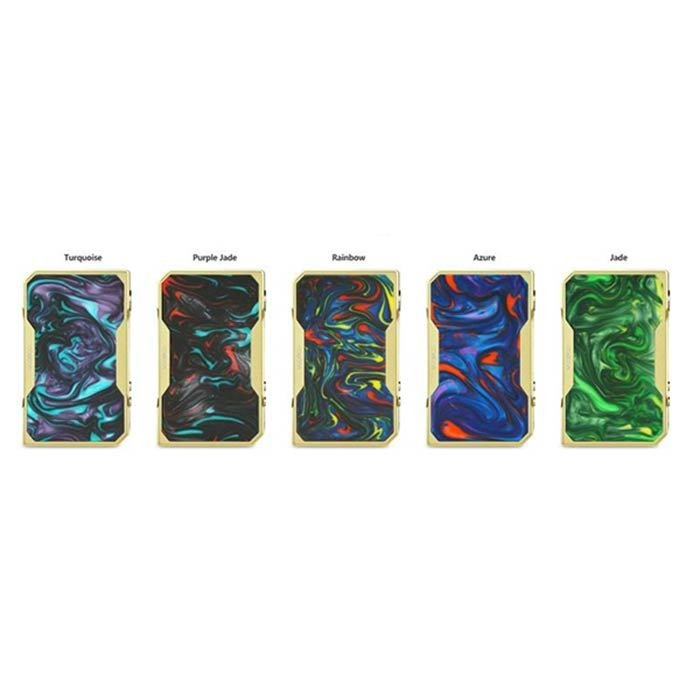 Voopoo Drag 157W TC Box Mod Gold Frame Resin