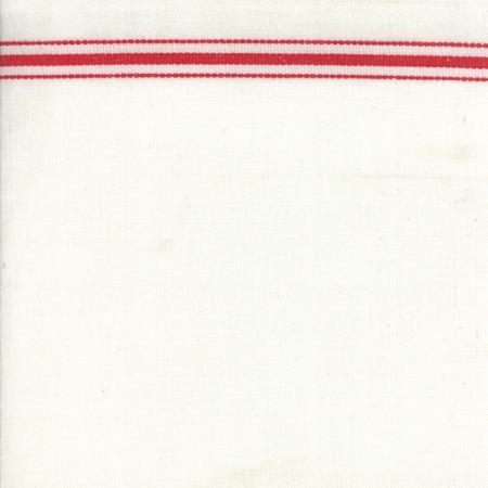 16 Toweling White/Red