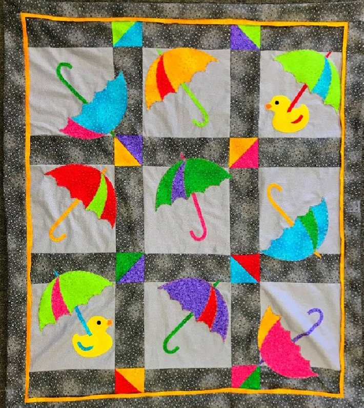 Kit Umbrella Baby Quilt