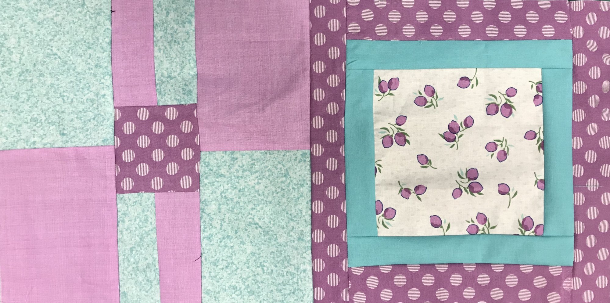 Kit 5 yd Quilt Hello Jane Purple