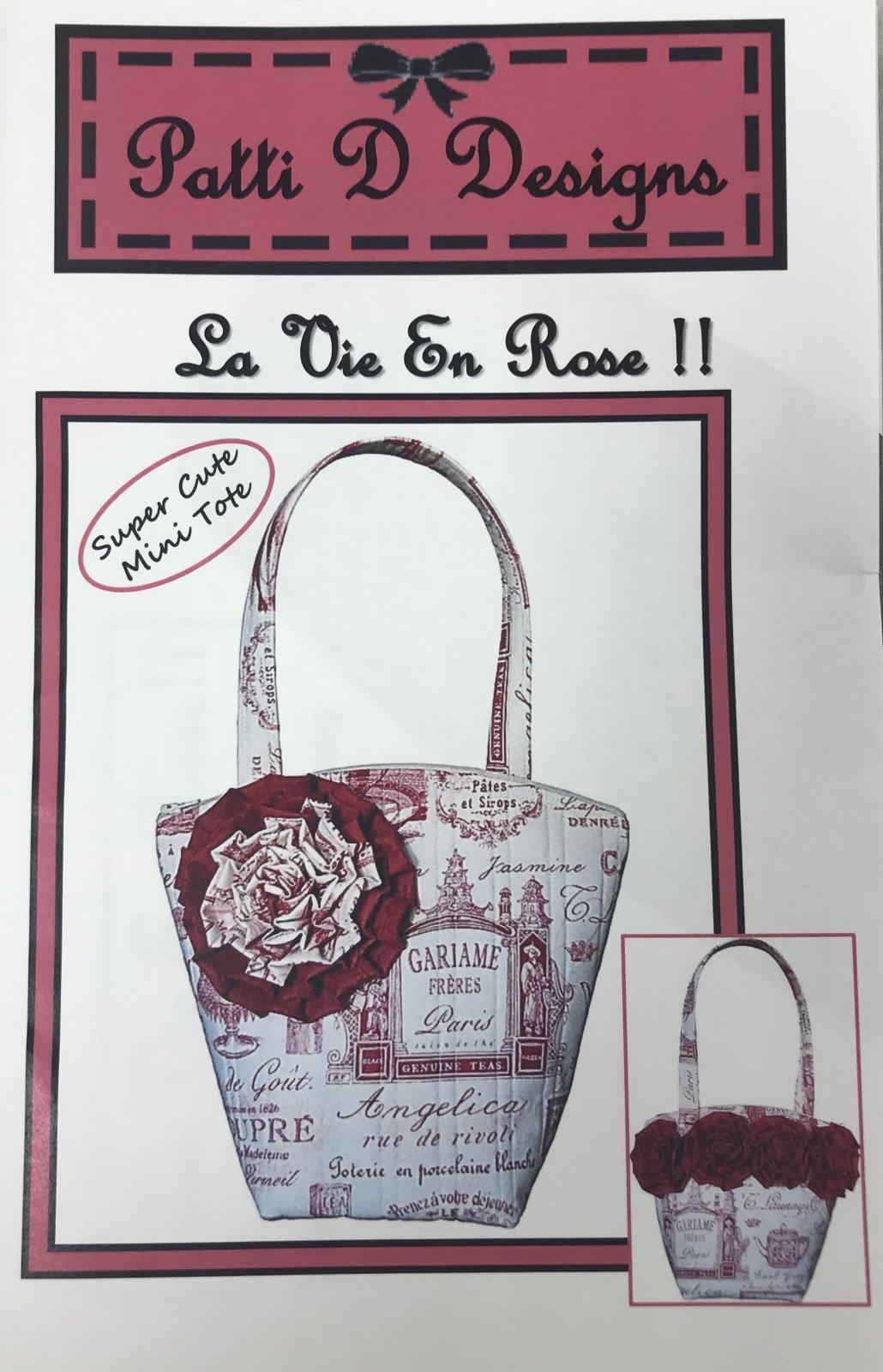 Pattern Patti D Designs La Vie En Rose