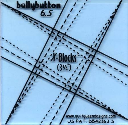 Belly Button X-Block Ruler