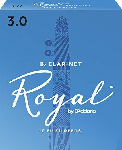 Rico Royal Clarinet Reeds Box 10