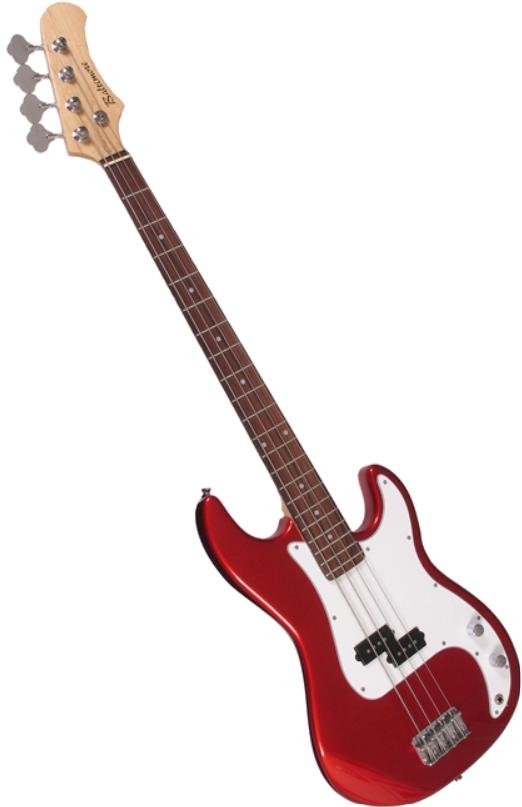 Baltimore Electric Bass Guitar - Metallic Red