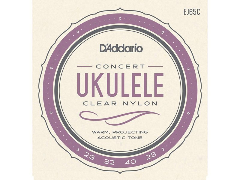 D'addario Clear Nylon Ukulele Strings