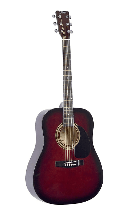Johnson 3/4 Scale Acoustic Guitar - Red