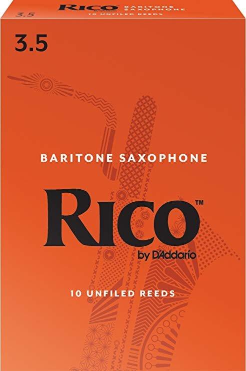 Rico Baritone Sax Reeds Box 10