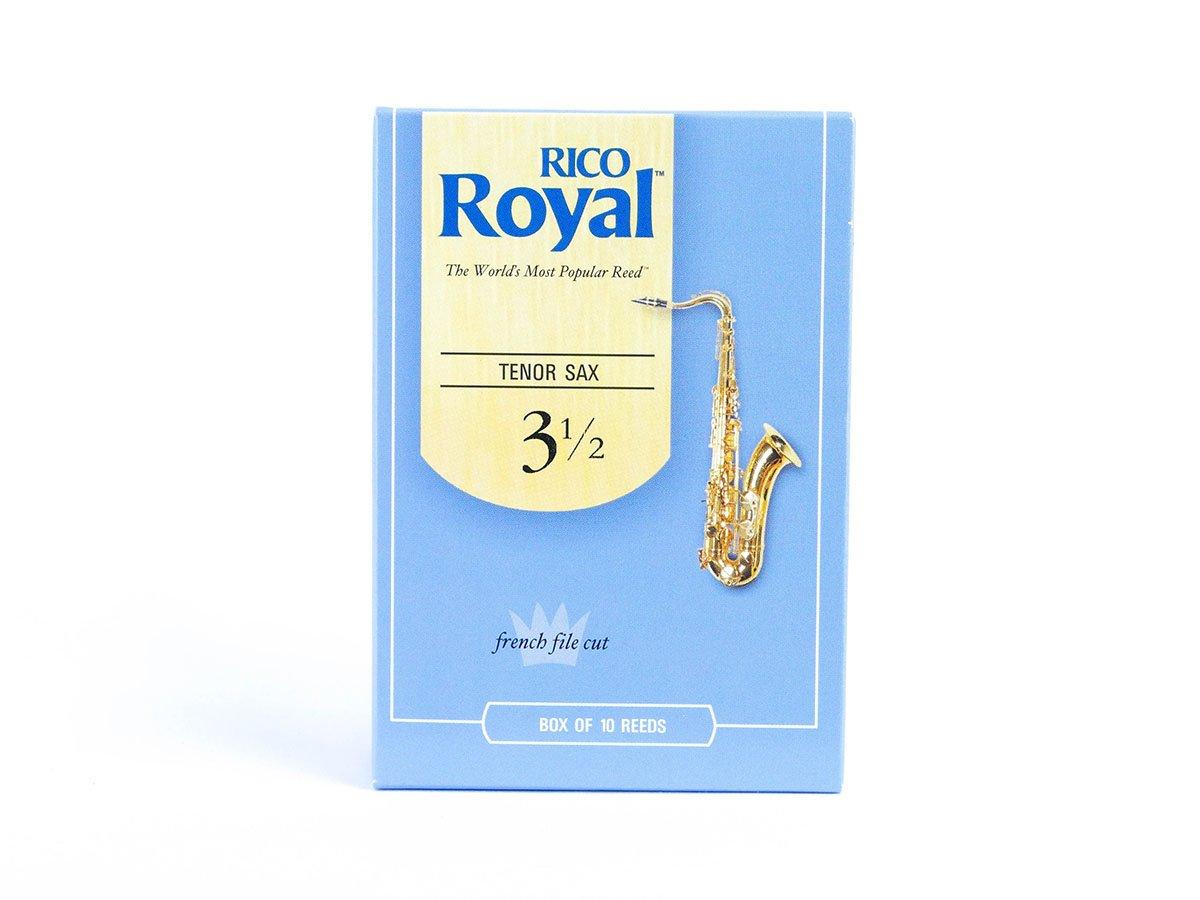 Rico Royal Tenor Sax Reeds Box 10