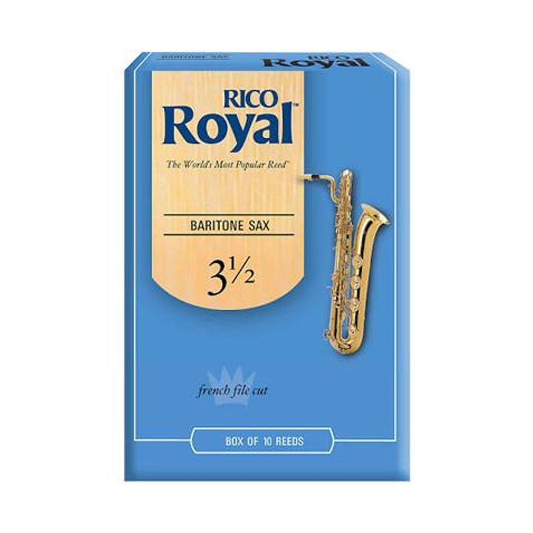 Rico Royal Baritone Sax Reeds Box 10