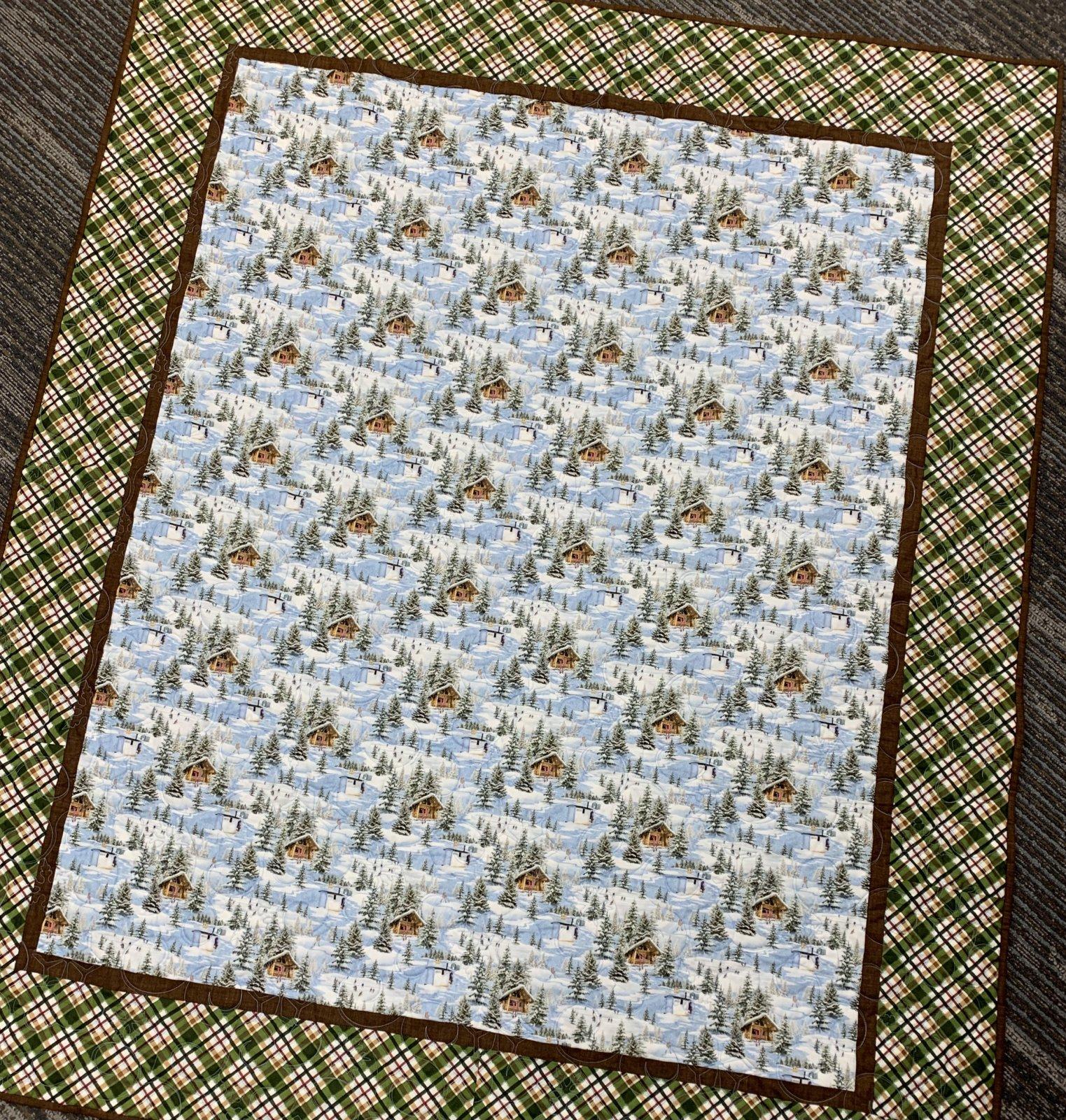 Minnesota Winter Wonderland Quilt Kit 52x62