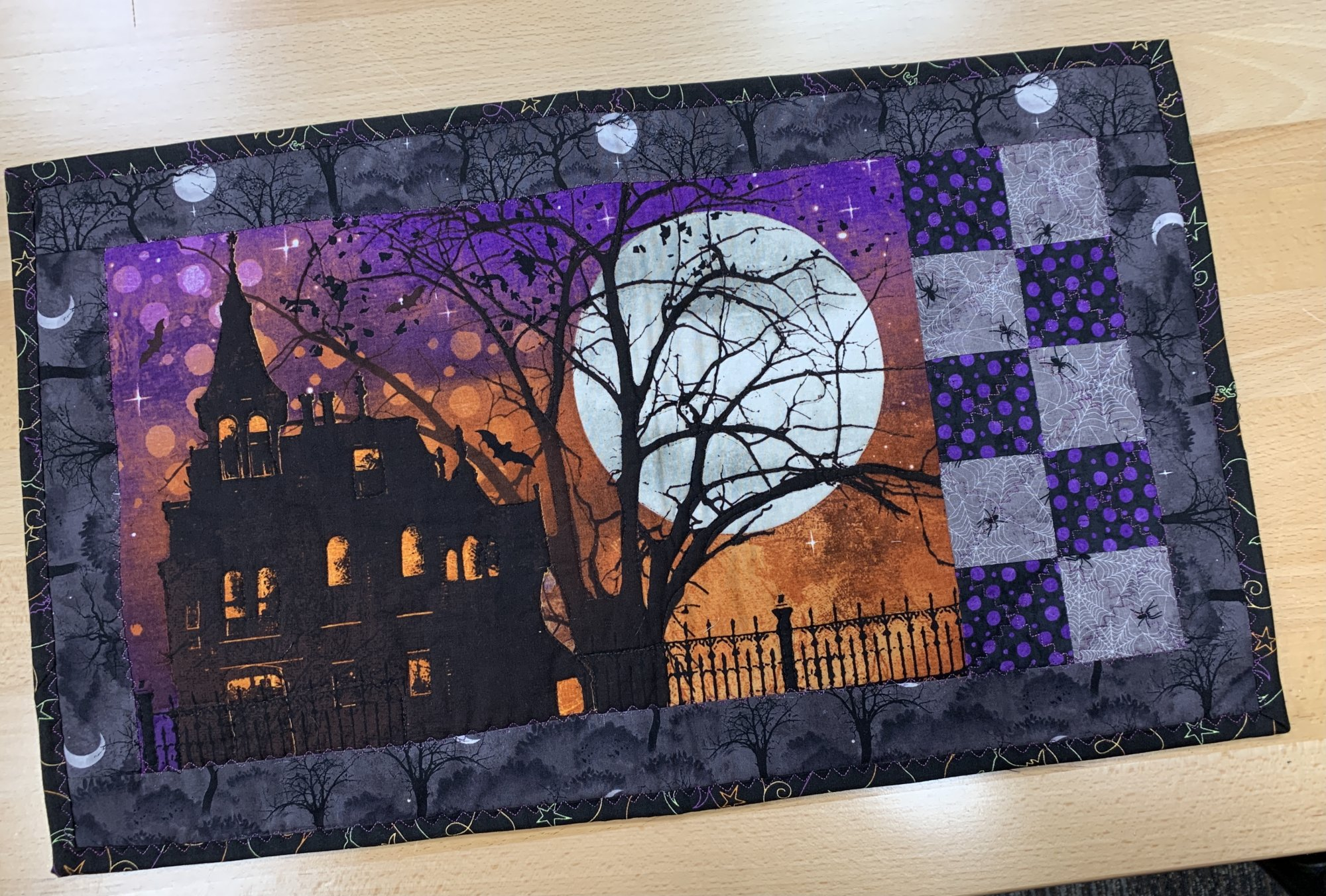 Frightful Night Placemats Kit, Set of Four