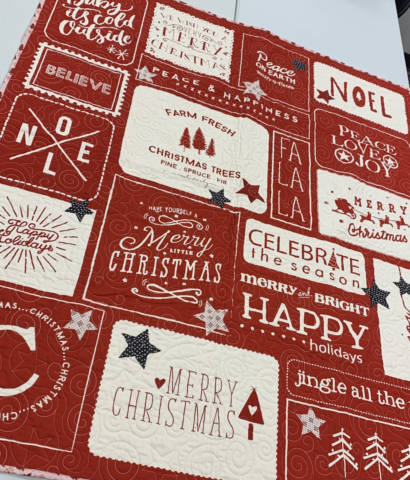 Printworks Red Wishes & Stars Kit 54x65