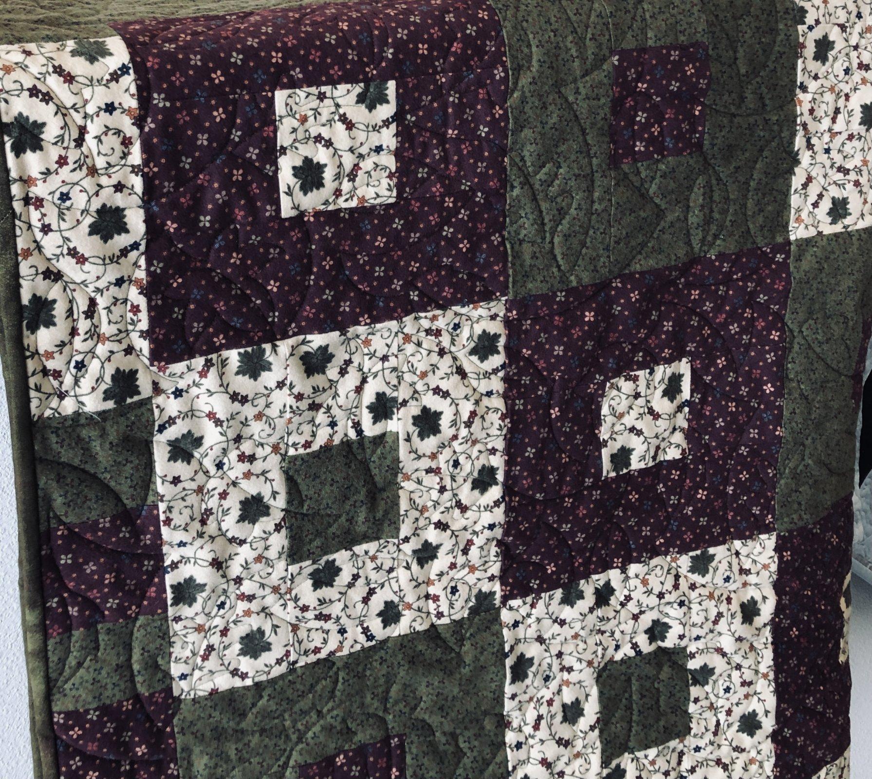 Flannel Block Quilt