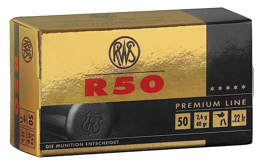 RWS R50 .22 lr 50rnds