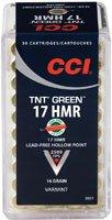 CCI TNT Green 17 HMR 50rnds