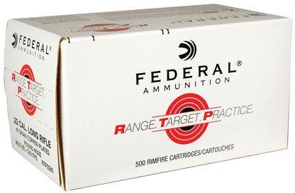 Federal Ammo. .22 Cal. Long Rifle 500rnds