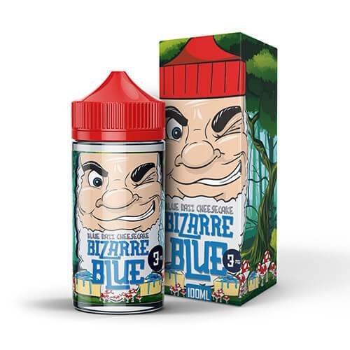 Bizarre Blue Blue Razz Cheesecake