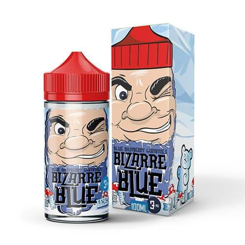 Bizarre Blue Blue Raspberry Gummies