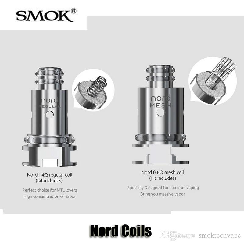 SMOK Nord Replacement Coils (PRICE PER COIL)
