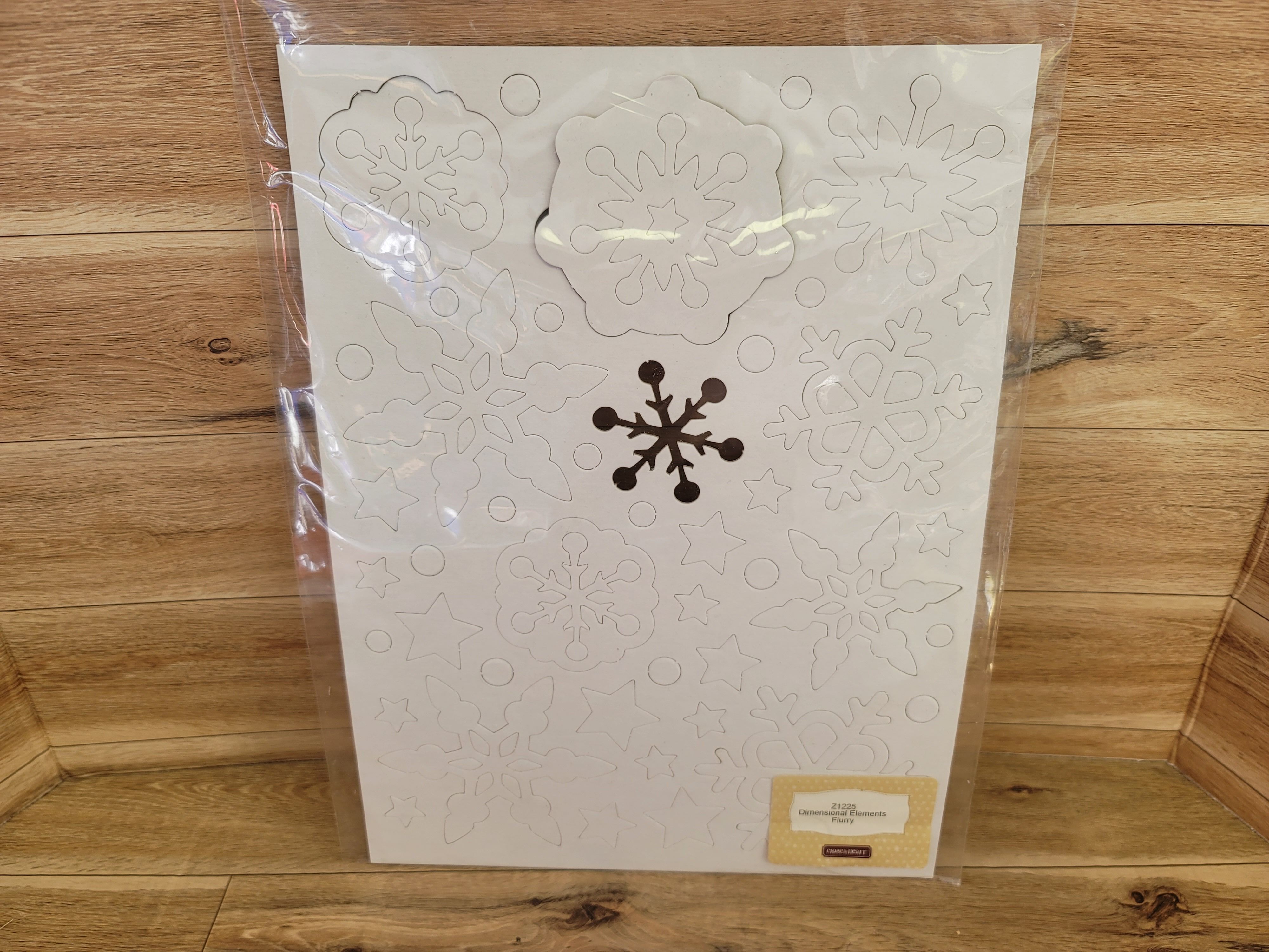Close to my Heart - Dimensional Elements - Chipboard Snowflakes