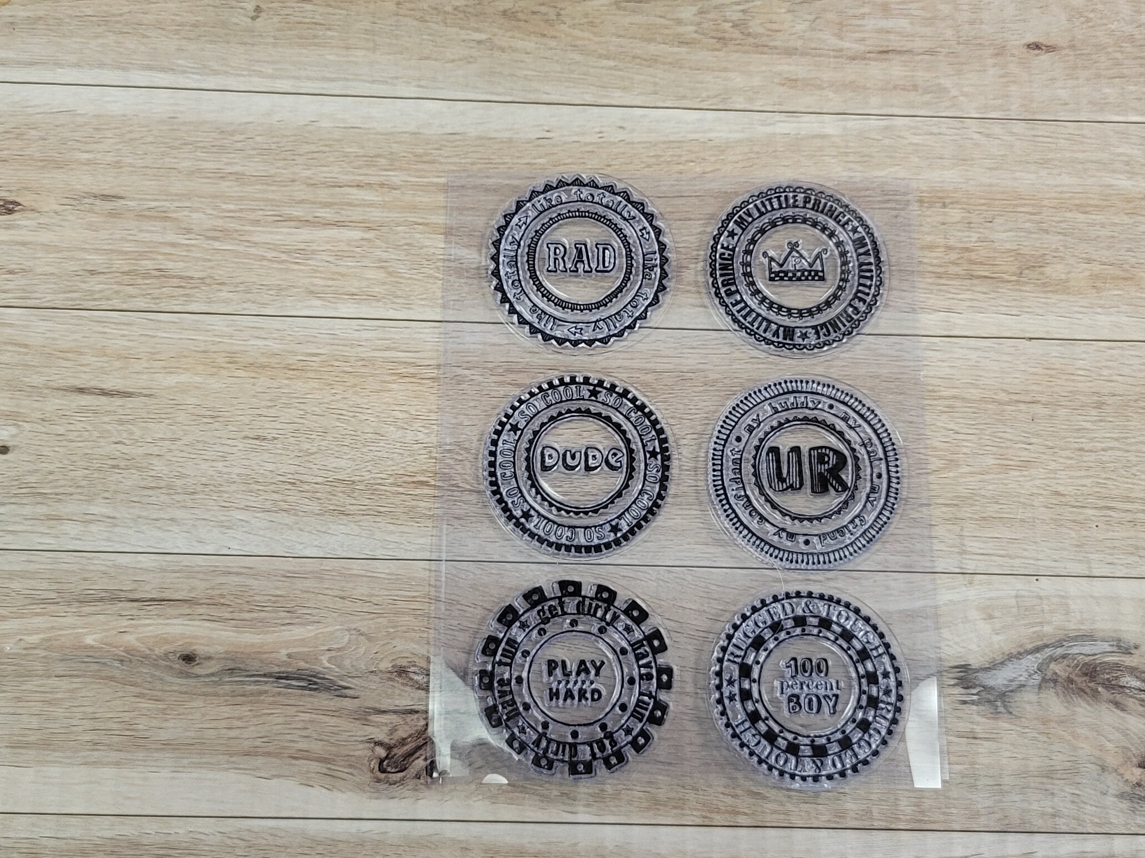 Clear Stamps - Rad