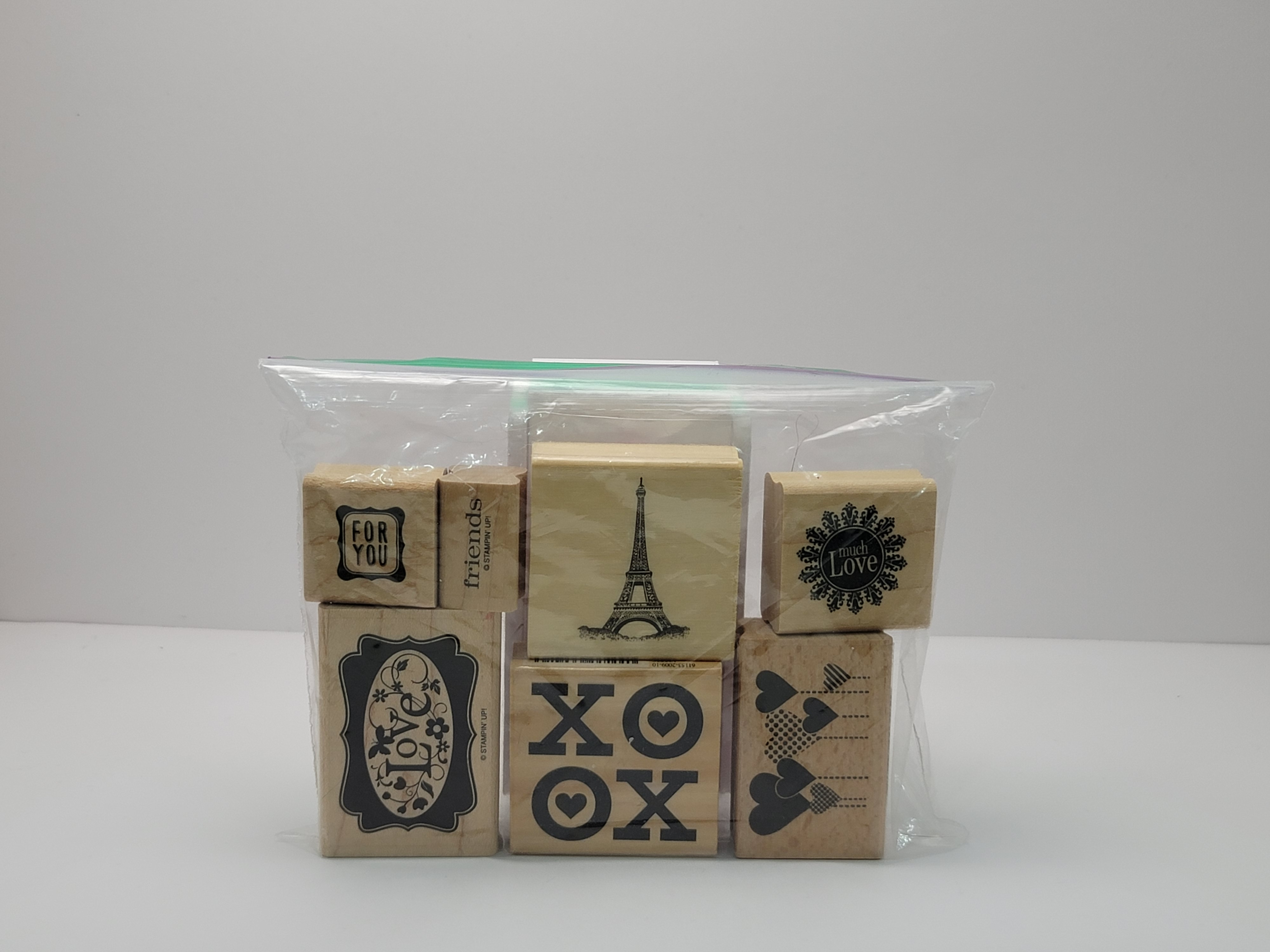 Block Stamps - Misc Love Themed (7 stamps)