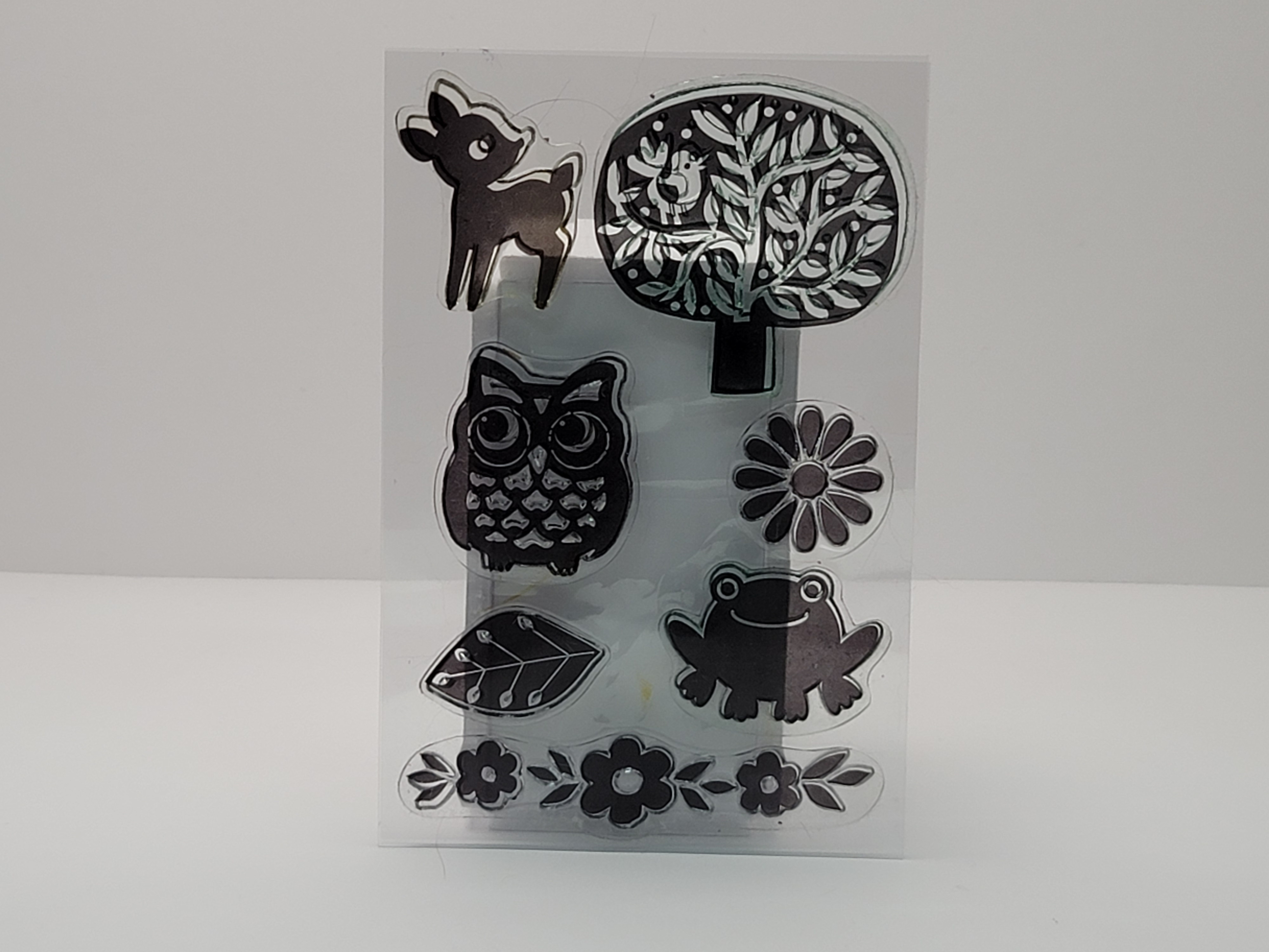 Clear Stamps - Forest Animals and Trees