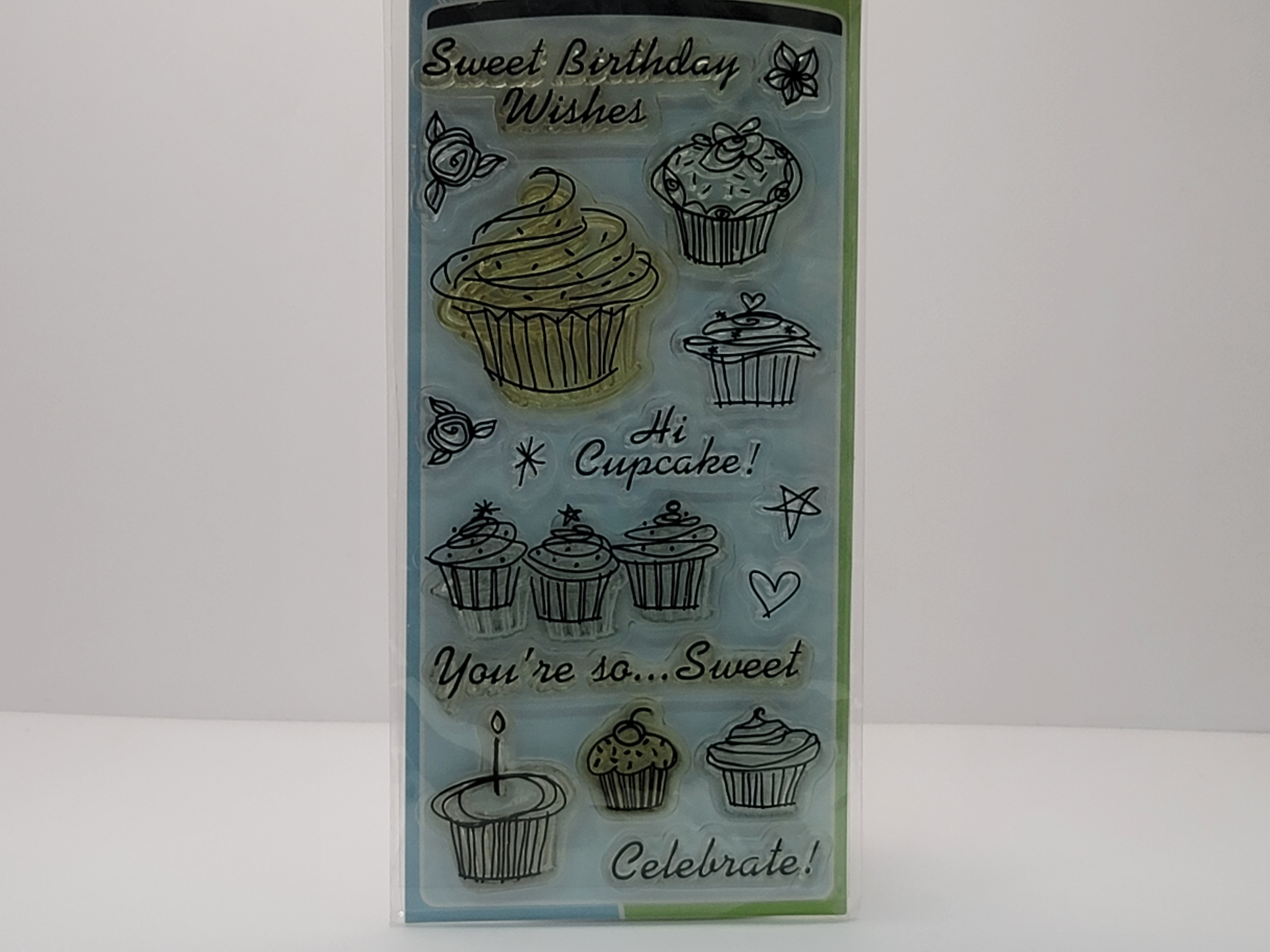 Clear Stamps - Birthday Cupcake