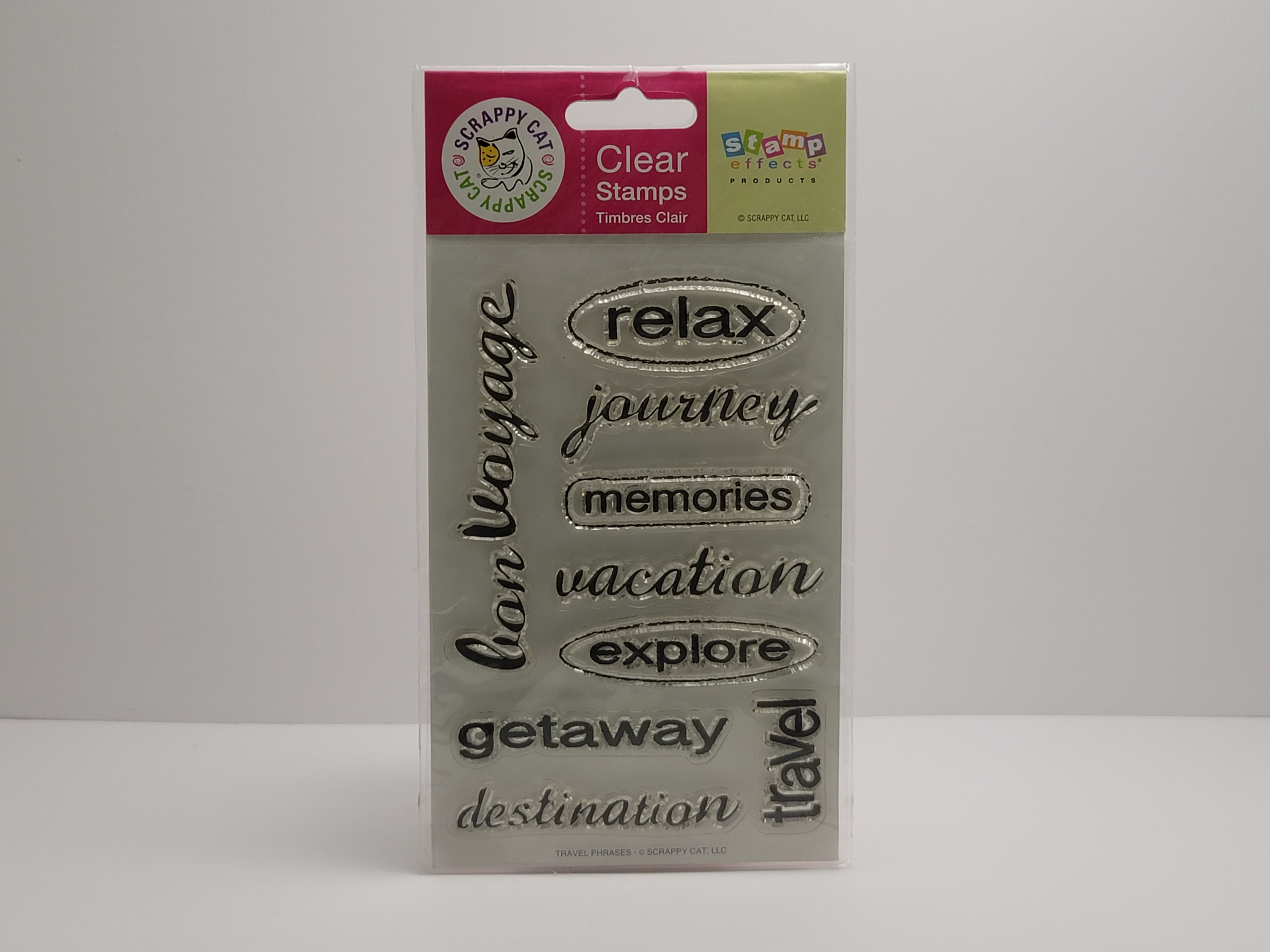 Clear Stamps - Travel Phrases