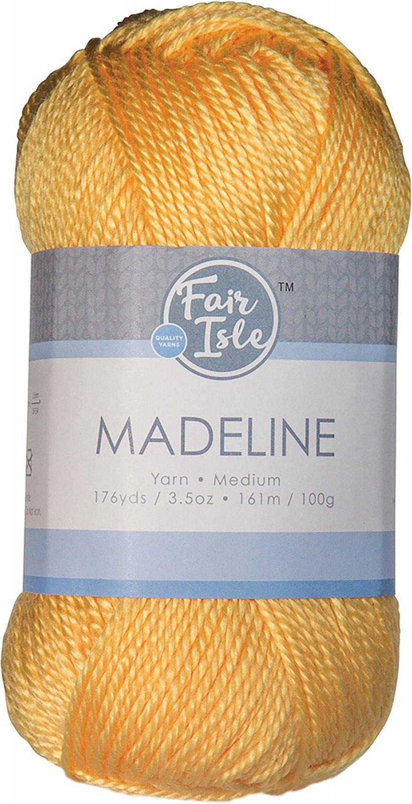 Fair Isle - Madeline - Flax