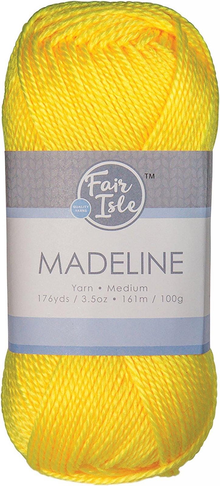 Fair Isle - Madeline - Lemon Pucker