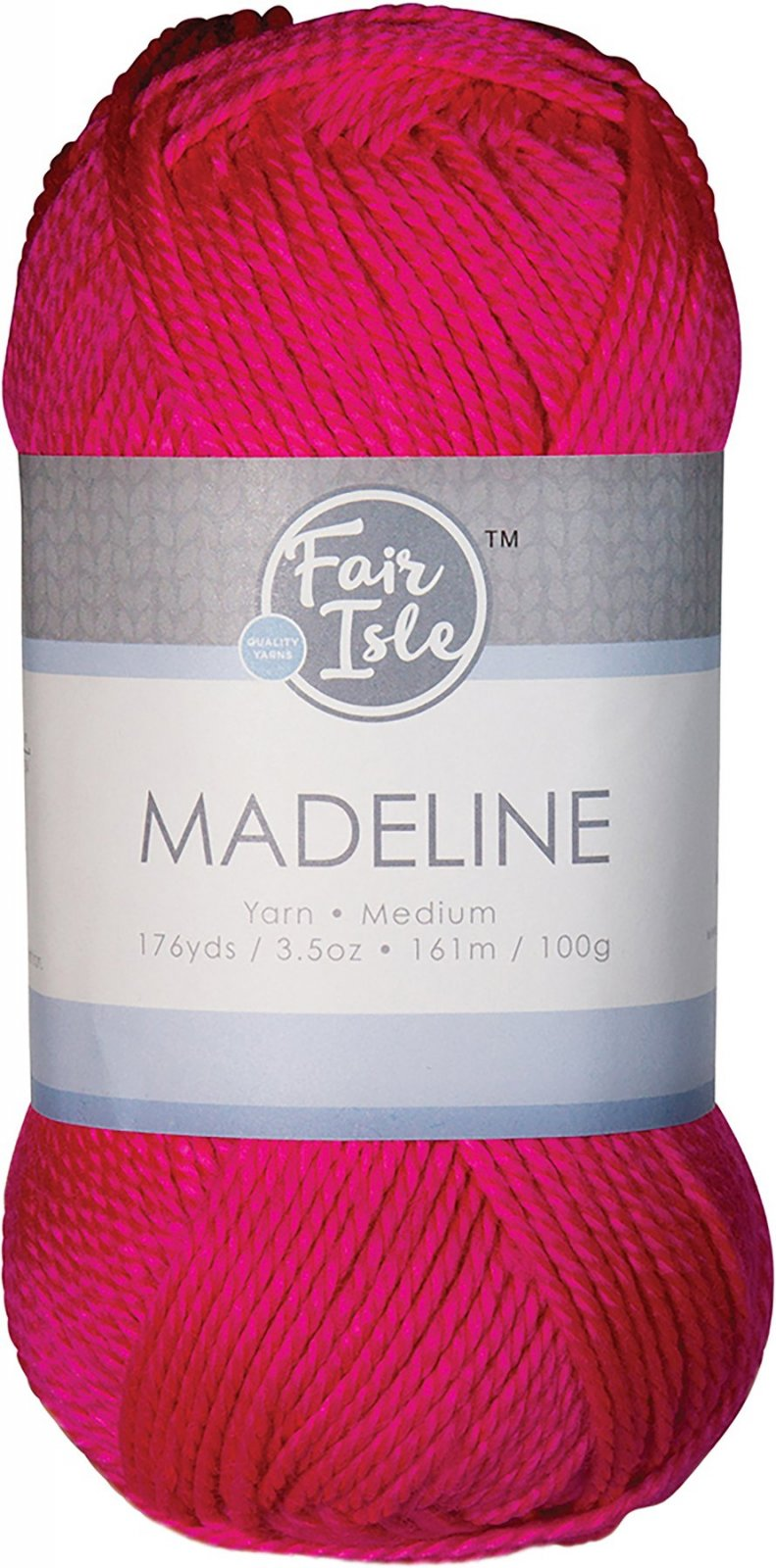 Fair Isle - Madeline - Pink Shock