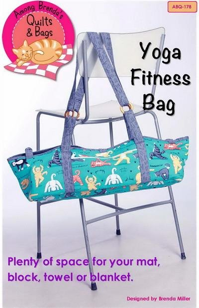 Yoga Fitness Bag With Free Hardware