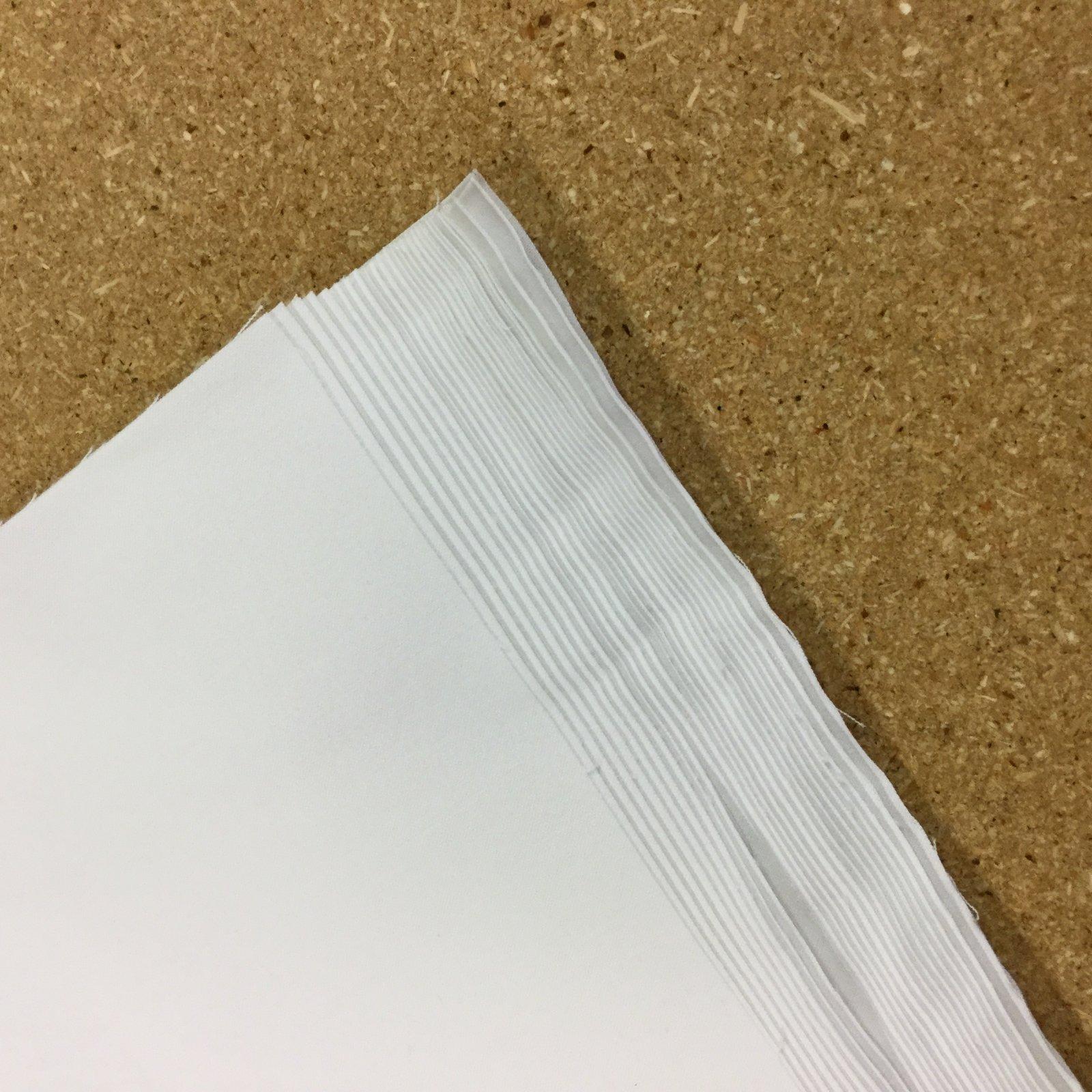 White KONA Squares - 11x11 - pkg of 50