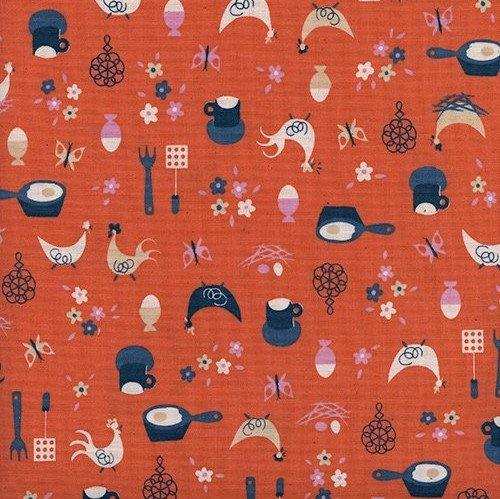 Welness: Kitchen Kitsch - Sweet Orange - 1pc - 1.17m/46in