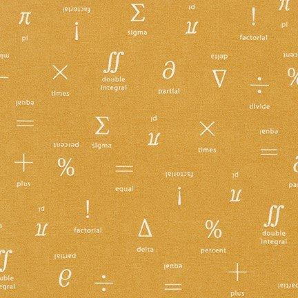Musings - Equations - Mustard
