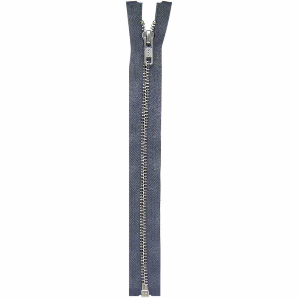COSTUMAKERS One Way Separating Zipper - 30in/75cm - Rail