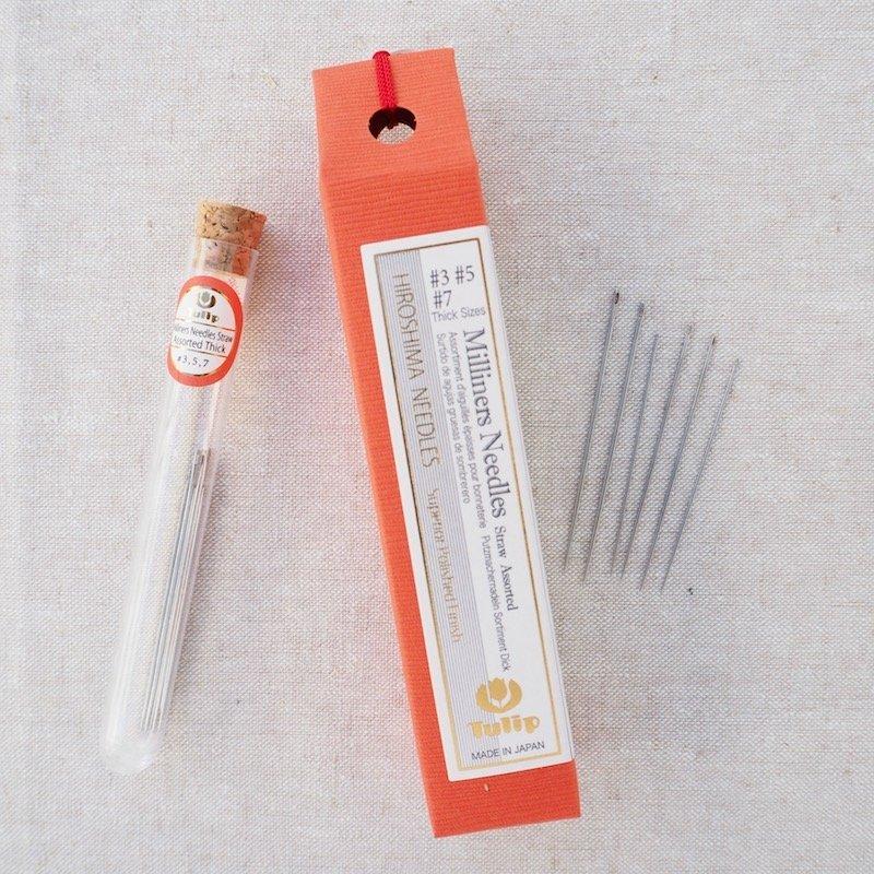 HIROSHIMA - Milliners Needles - Assorted Sizes #3, 5, 7