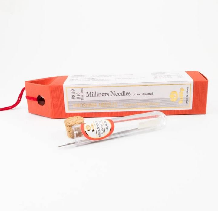 HIROSHIMA - Milliners Needles - Assorted Sizes #8, 9, 10