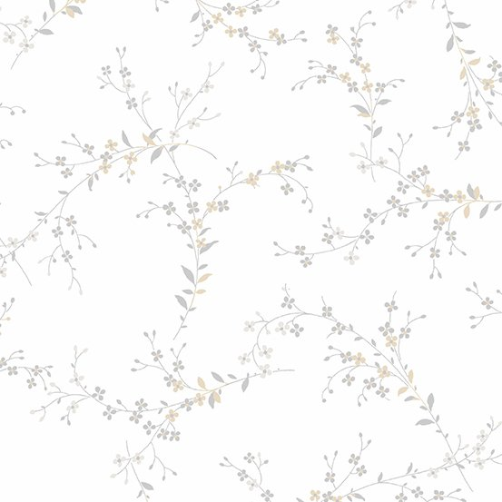 Willow - Fine Vine - Grey - 1pc - 1.11m/44in