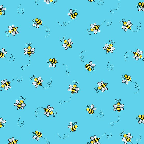 Bumble Bee - Teal - A-9715-T