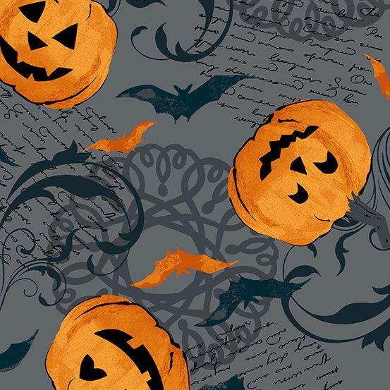 Midnight Haunt - Pumpkin Scroll - Slate