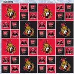 NHL Hockey - Ottawa Senators - 1pc - 0.58m/23in
