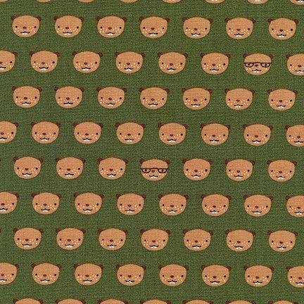 Andie's Minis - Beaver Heads - Green