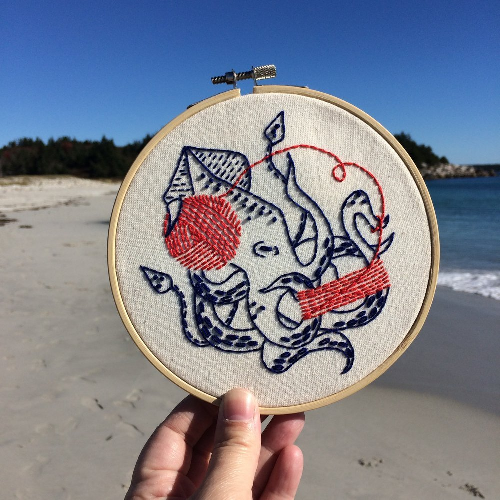 Ball of Fun - Complete Embroidery Kit