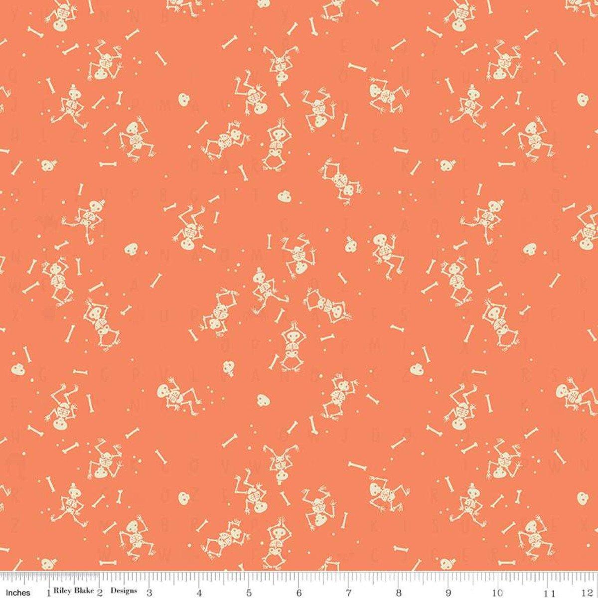 Tiny Treaters - Skeletons - Orange