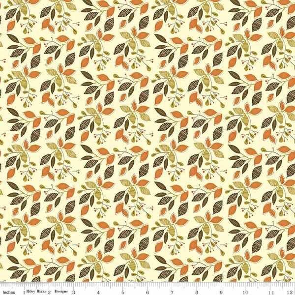 Adel in Autumn - Leaves - Cream
